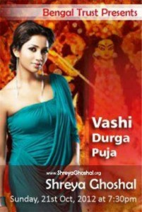 Celebrate Durga Puja with Shreya Ghoshal