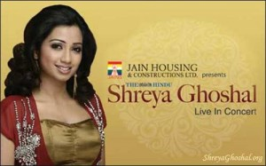 Shreya Ghoshal – Live in concert (Hyderabad)