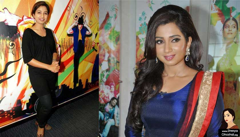 Shreya Ghoshal smile