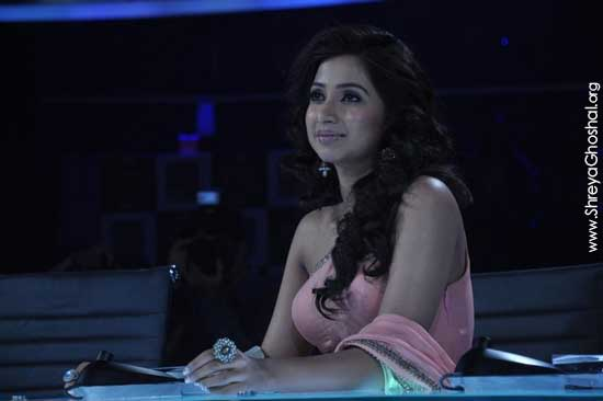 Shreya Ghoshal, X Factor India photos