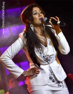 Shreya Ghoshal concert, The Hindu 2012