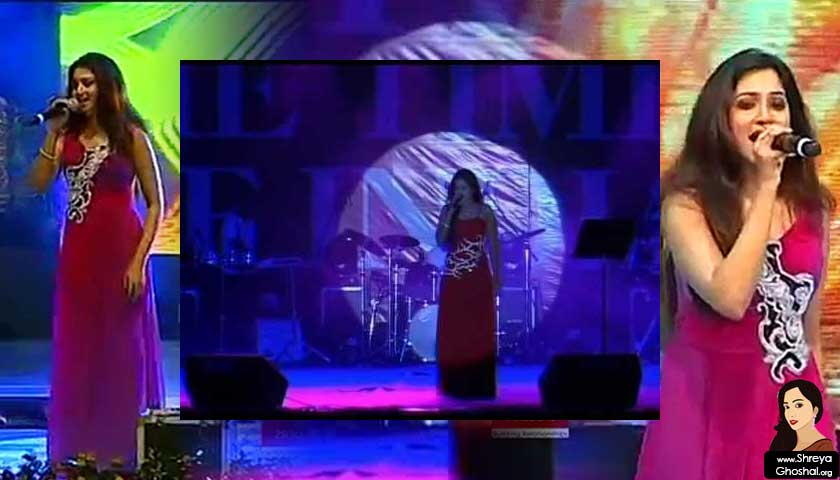 Shreya Ghoshal middle eastern concert