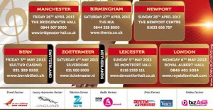 BizAsia ties-up with Shreya Ghoshal 2013 UK tour