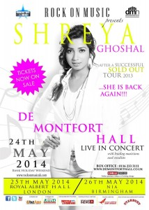 Shreya-Ghoshal-Live -in-UK