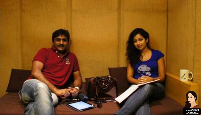 Shreya Ghoshal impressed with Raghu Kunche