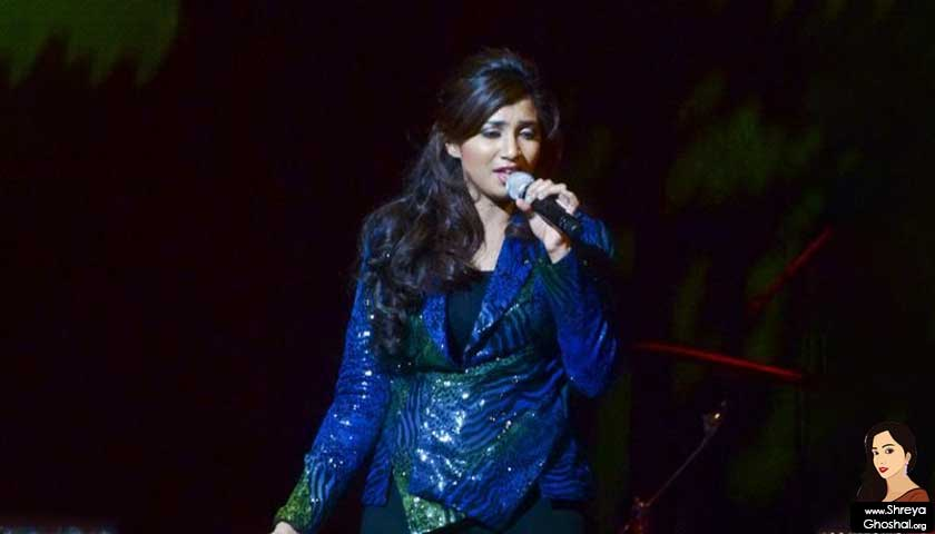 Shreya Ghoshal in Concert at Queen Elizabeth Theatre