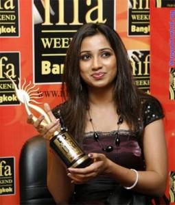 Shreya Ghoshal iifa awards