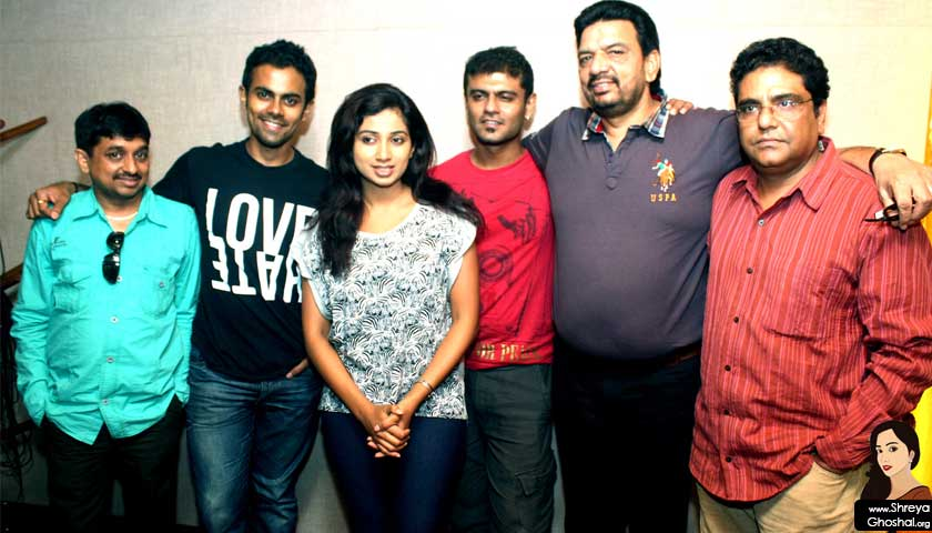 Shreya Ghoshal records Mulgi Marathi song