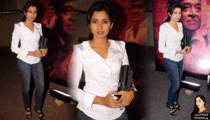 Shreya Ghoshal pays tribute to Bhupen Hazarika