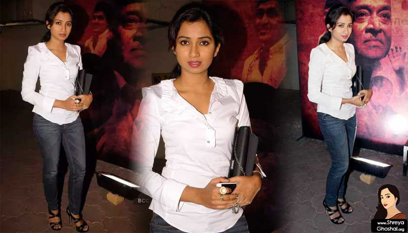 Shreya Ghoshal pays tribute to Bhupen Hazarika