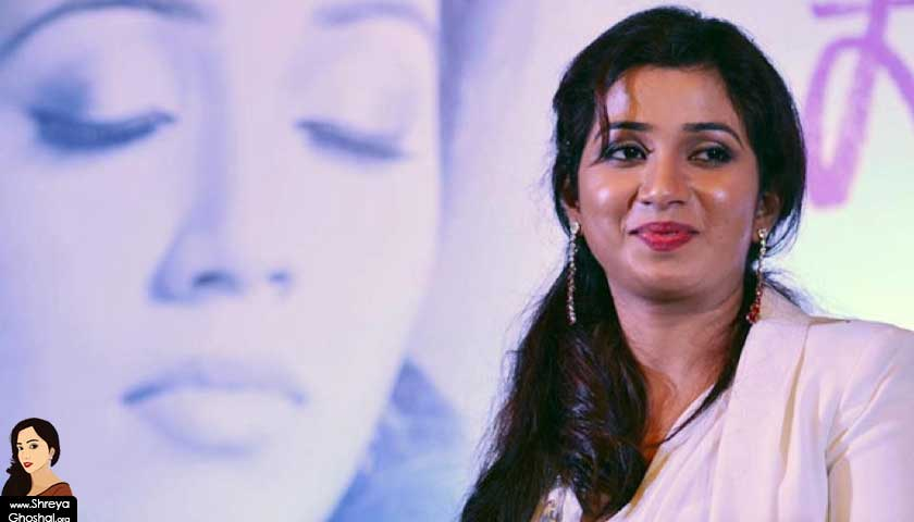 Shreya Ghoshal album promo