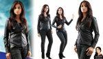 Shreya Ghoshal in wild black