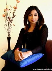 Shreya Ghoshal at home