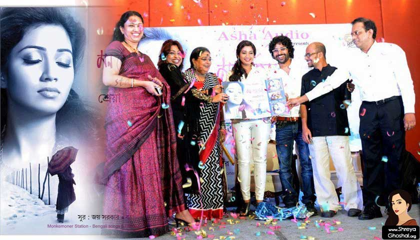 Shreya Ghoshal at the music launch of Monkemoner Station