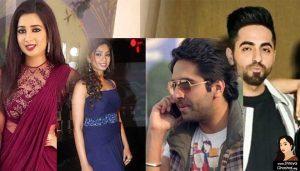 Ayushmann Khurrana dials Shreya Ghoshal
