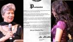 June 26 declared as Shreya Ghoshal day in Ohio