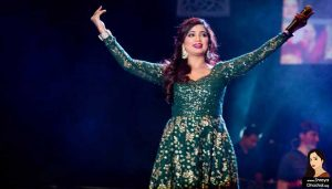 Shreya Ghoshal at Sydney Olympic Park