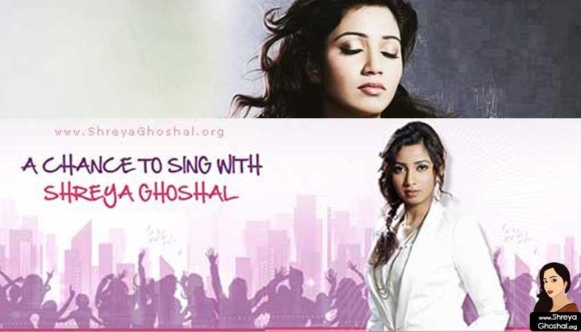 sing with shreya ghoshal