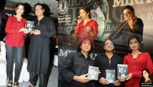 Shreya Ghosal, Zakir Hussain at the launch of Deepak Pandit's Album Miracle