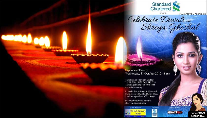 Celebrate Diwali with Shreya Ghoshal