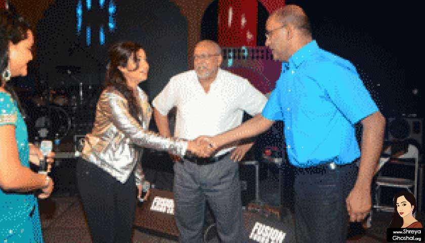 shreya ghoshal, guyana