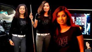 Shreya Ghoshal in real black