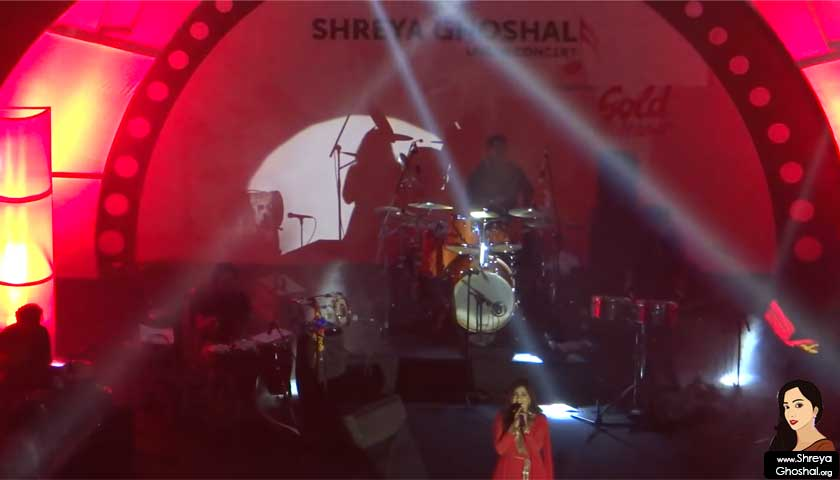 shreya ghoshal, live 2012 Hyderabad