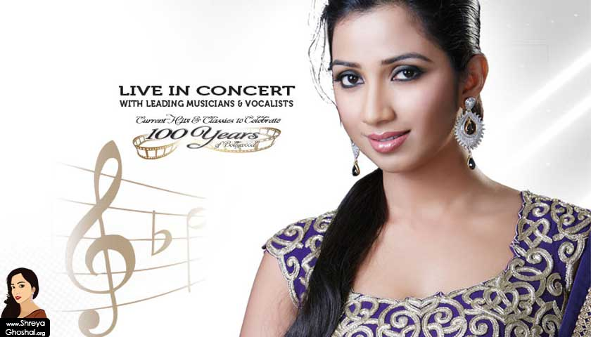 Shreya Ghoshal Live 2013 - Europe Tour