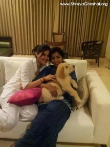 Sherlock with Shreya's friend