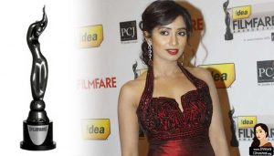 The Filmfare Awards, shreya ghoshal