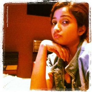 clicked by Shreya Ghoshal - bored