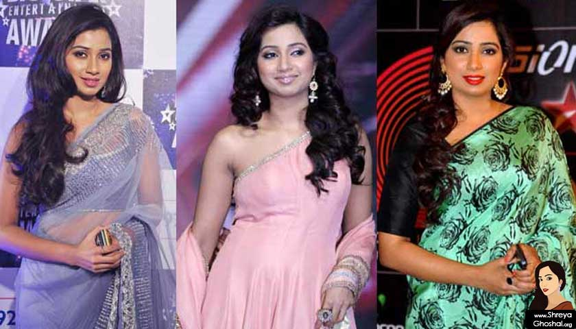 Shreya Ghoshal wears saree