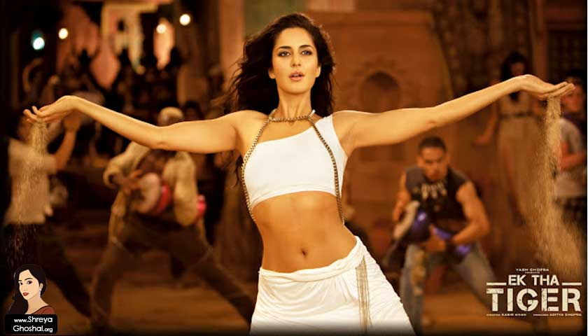 Ek Tha Tiger, Katrina Kaif, Mashallah song video
