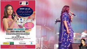 Shreya Ghoshal concert in Brisbane