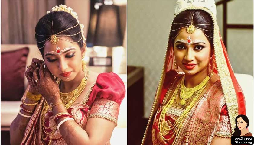 shreya ghoshal, dulhan