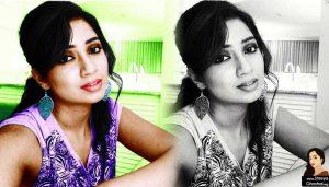 Shreya Ghoshal selfie