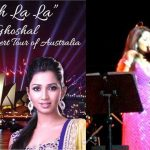 Shreya Ghoshal – The Australian Tour 2013
