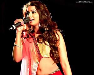 shreya ghoshal in saree