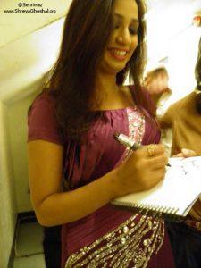 Shreya Ghoshal - @Sehrinaz