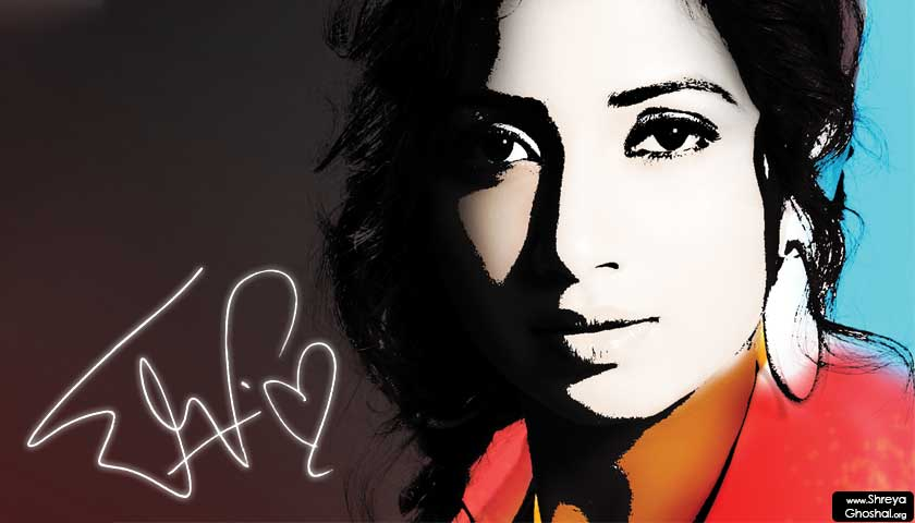 shreya ghoshal, signature