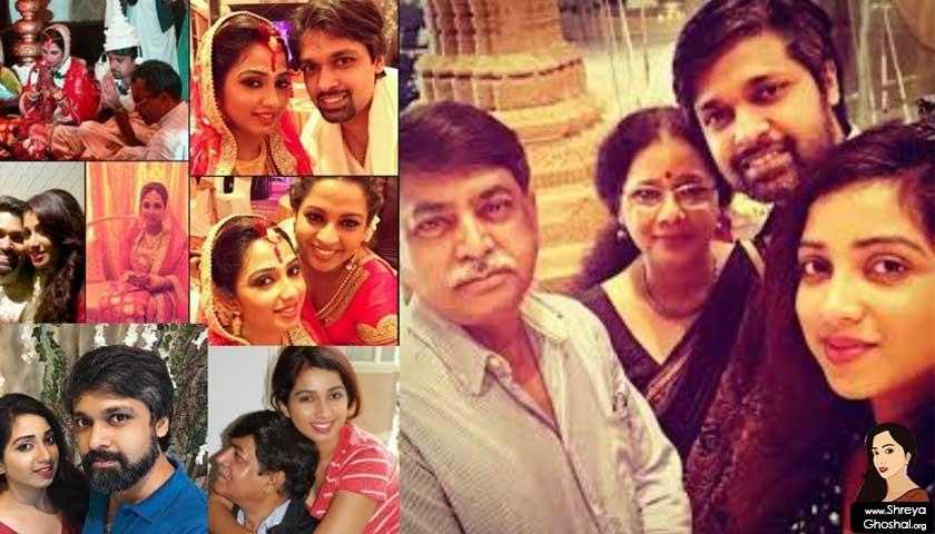 shreya ghoshal marriage
