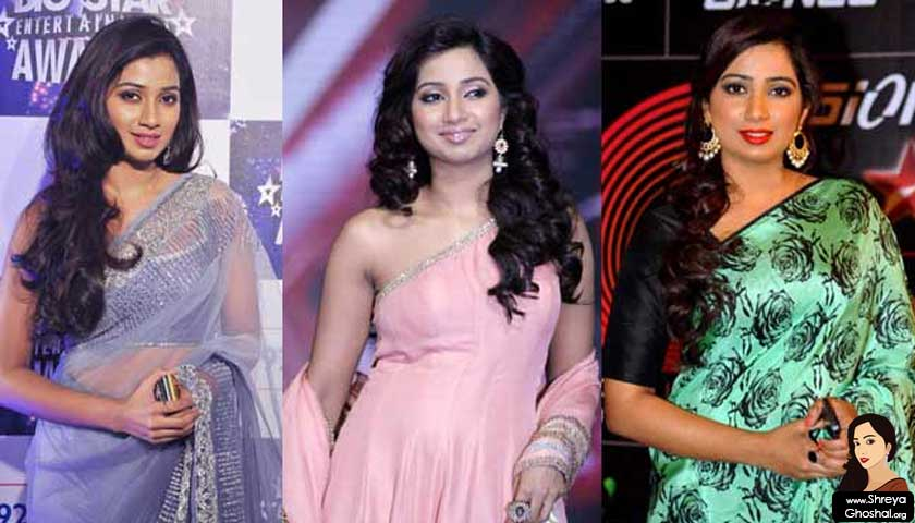 shreya ghoshal @ music awards