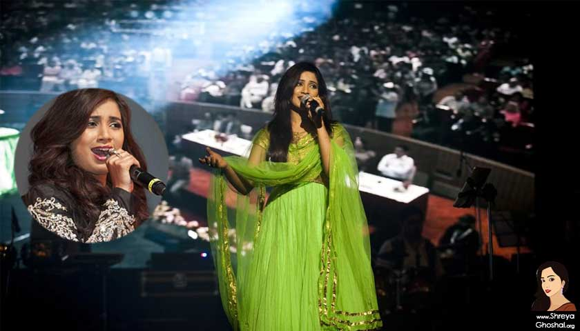 shreya ghoshal, uae performance