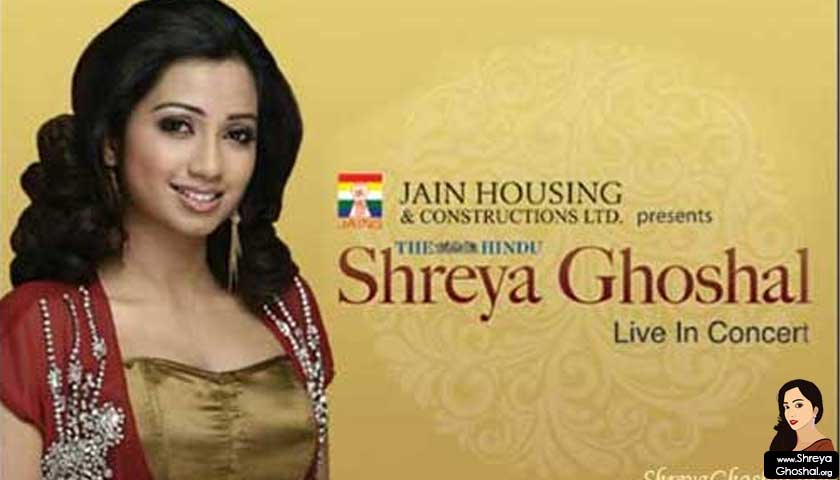 Shreya Ghoshal - Live in concert Hyderabad