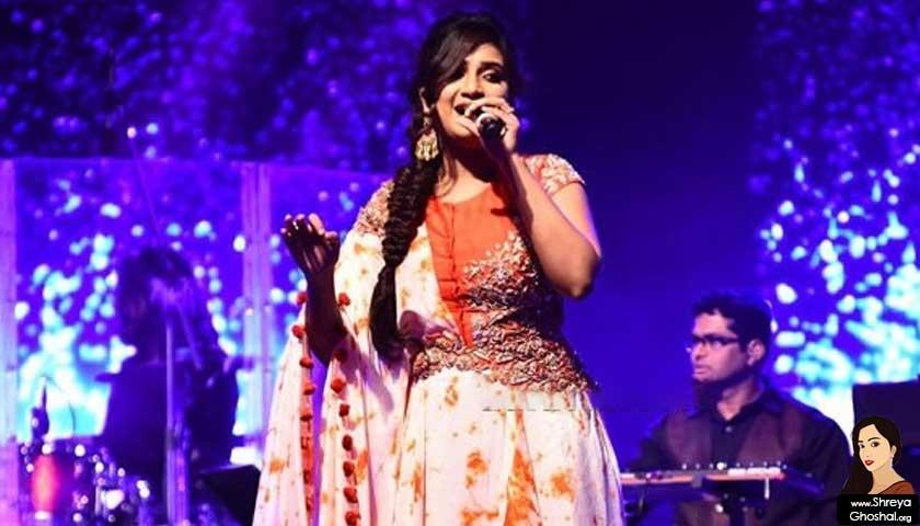 shreya ghoshal, concert jito