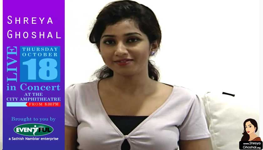 shreya ghoshal, muscat